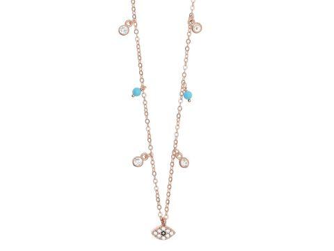 Choker - náhrdelník s čiernym očkom  0e4ea6de9bd